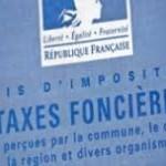 Taxe foncière date et montant paiement
